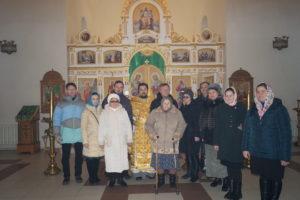 Пензенский паломники причастились Святых Христовых Таинств в храме священноисповедника Иоанна Оленевского