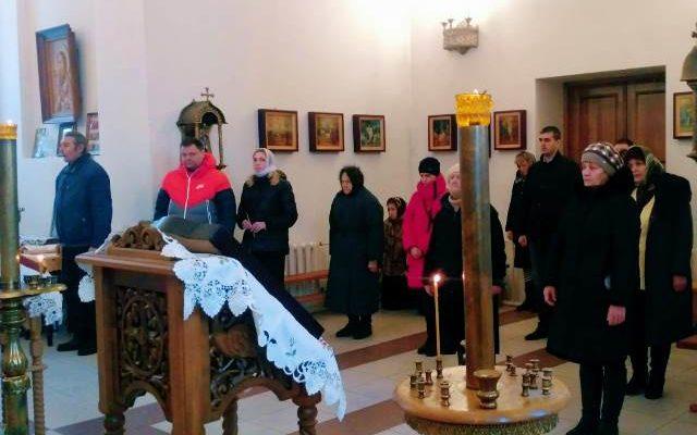 В день памяти святителя Иоанна Милостивого, патриарха Александрийского в Иоанно-Оленевском храме совершена Божественная литургия