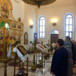 Православные верующие Оленевки молитвенно почтили память преподобного Алипия Столпника