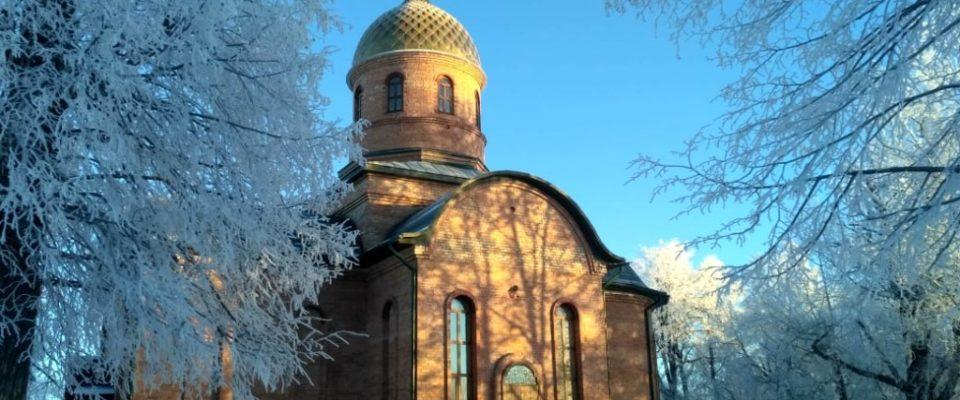 Православные верующие Оленевки молитвенно почтили память святых мучеников Платона и Романа